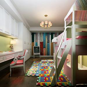 时代奥城美式风格儿童房装修效果图