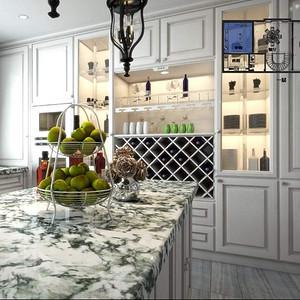 水岸新都 美式风格 厨房