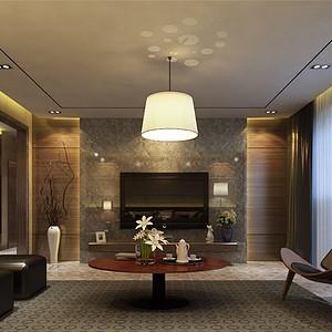 金地紫云庭-现代风格-169平米