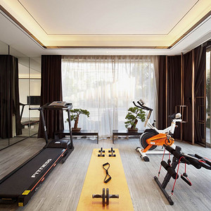 现代中式-健身房