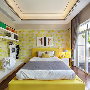 现代中式-卧室