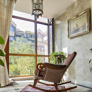 阳台 别墅-新古典-实景图