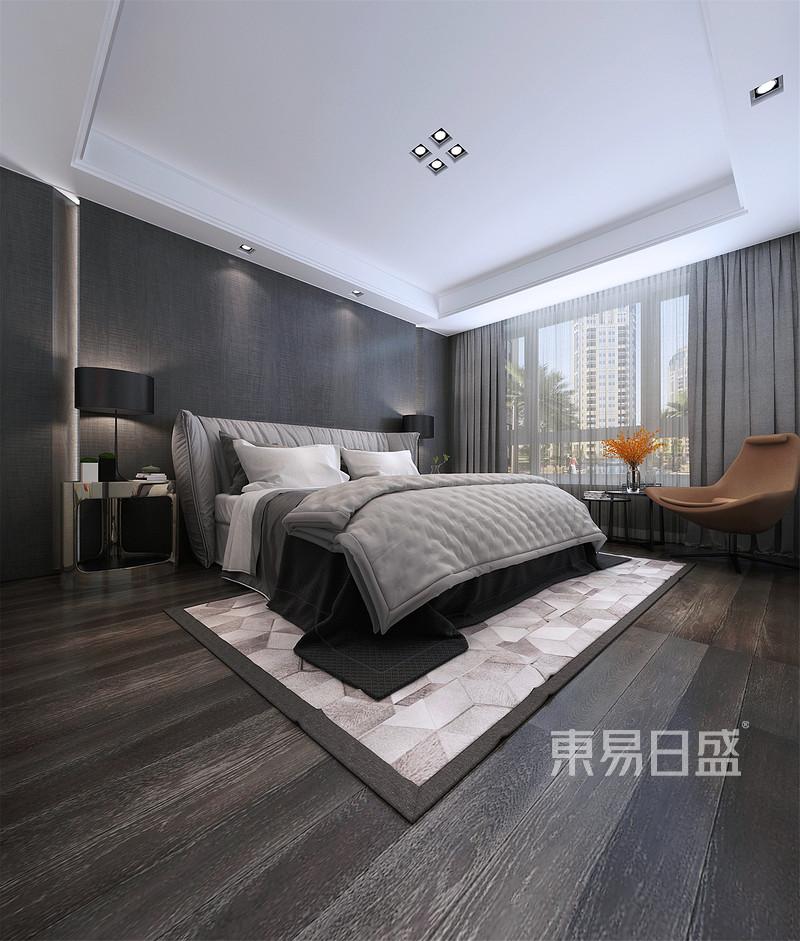现代简约 - 奕聪花园现代极简风格主卧室装修效果图