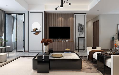 融侨悦城-现代新中式-123平米