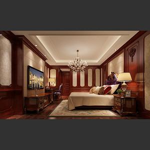 山泉新村 美式风格 卧室