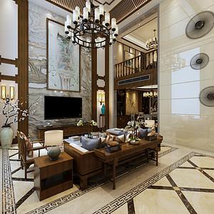 碧桂园豪庭 新古典风格 260平方 四室两厅装修