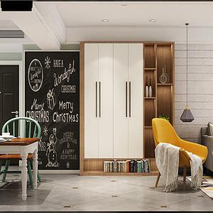 扬州端木华庭110平二室一卫两厅北欧风格