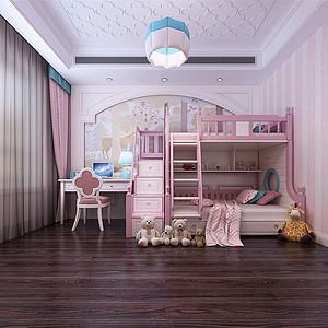 中海复兴九里新古典风格儿童房效果图