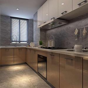 云锦世家现代简约风格厨房装修效果图