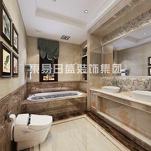 复古欧式风格-卫生间-装修效果图-卫生间装修效果图 卫生间装修图片