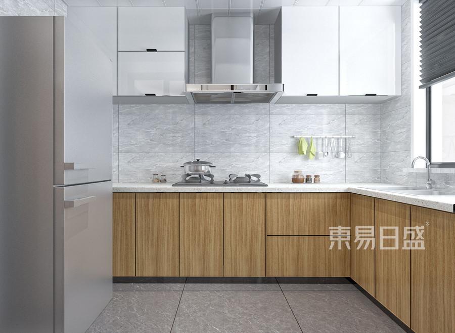 康大尚景-现代简约设计案例-厨房装修效果图