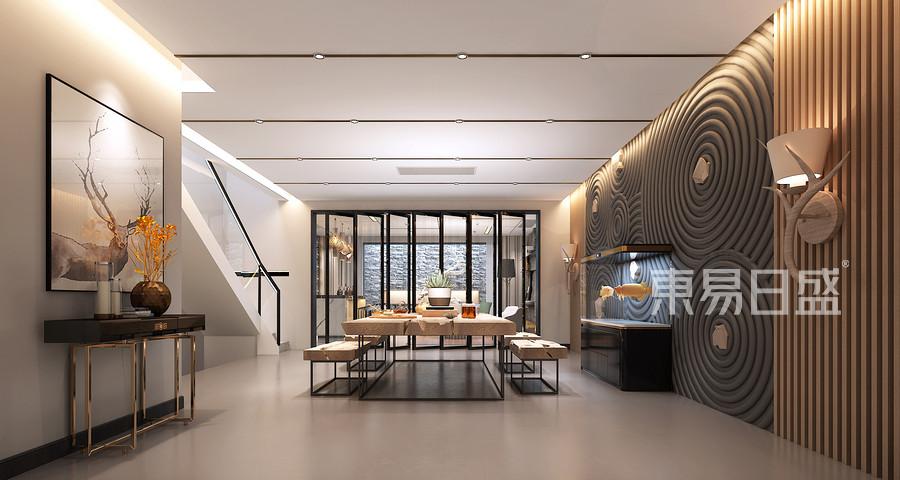 现代风格餐厅装修效果图