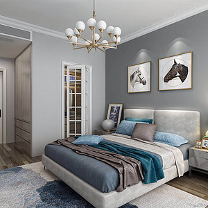 现代简约-卧室