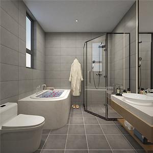 卫生间极简风格装修效果图