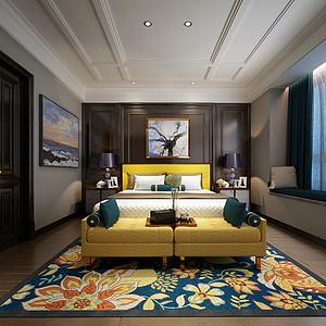星河传奇-200平-客厅装修效果图