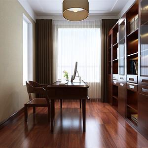 凤凰世嘉——新中式风格--书房