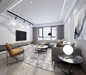 现代简约客厅装修设计效果图