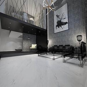 天安珑园-极简风格-198平米