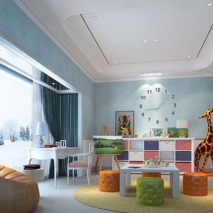 雅居乐·雍逸豪庭 现代东南亚 儿童房