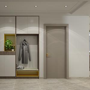 轻奢风格-门厅-装修效果图