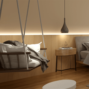七都岛中岛215平别墅现代轻奢风格设计装修效果图