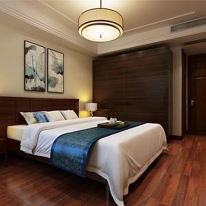 凤凰世嘉——新中式风格--卧室