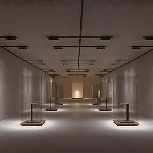 新中式-展厅-装修效果图