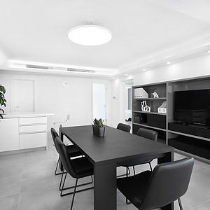 平海公寓现代简约风格176㎡实景图
