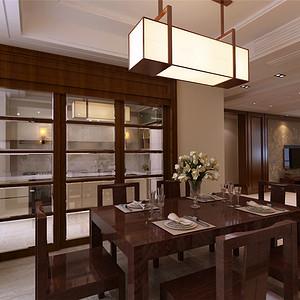 凤凰世嘉——新中式风格--餐厅
