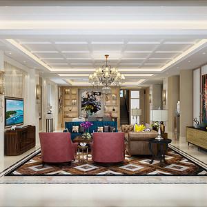 观澜·翡翠湾 现代简约风格 700平米别墅装修