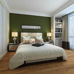 郡城家园现代简约风格卧室装修效果图