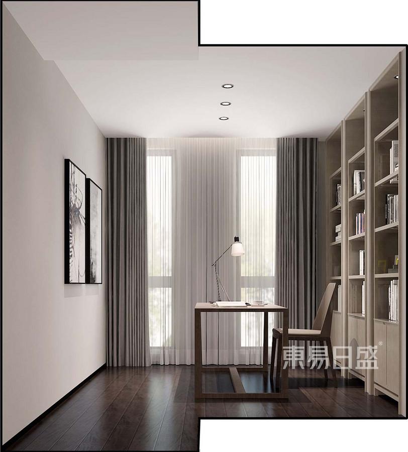 新极简风格书房壮装修设计