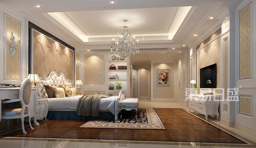 深圳卧室装修效果图-欧式风格装饰