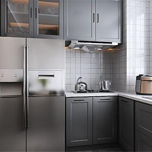 新中式厨房装修设计效果图