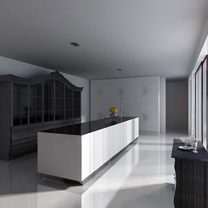 新古典-厨房-装修效果图