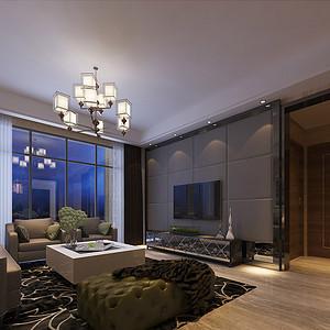 160㎡四房二厅现代风格装修效果图
