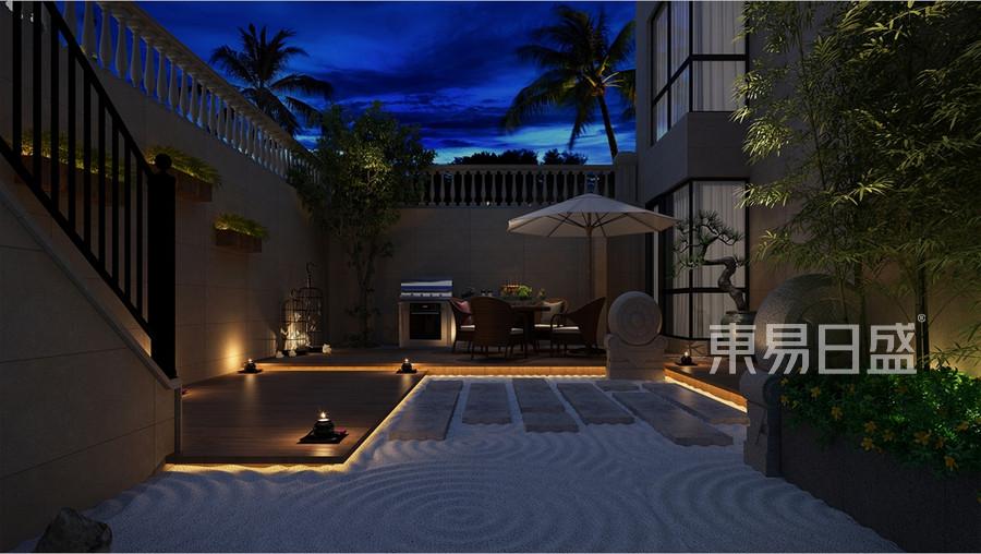 现代新中式风格庭院图片