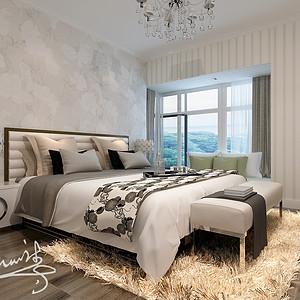 现代风格--卧室