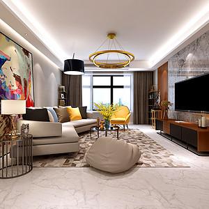 中建国熙台 现代风格 四室二厅 160㎡