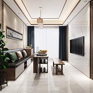 东城天骄御峰装修效果图-160㎡现代混搭五房二厅装修案例