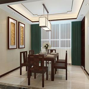 君熙太和--新中式风格--餐厅