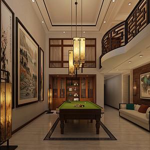 修效果图-城阳自建别墅-新中式风格-新中式其他装修效果图 新中式其
