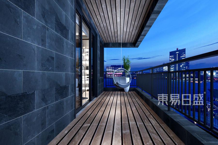阳台宽大,视觉空间大,南北通透
