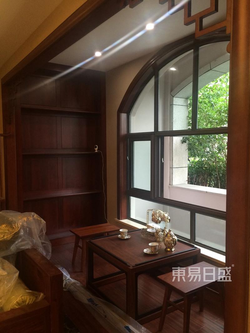 新中式 - 新中式风格阳台装修实景图