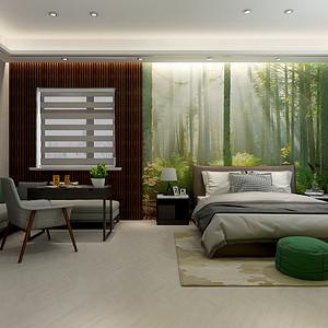 别墅-现代简约-卧室