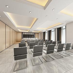 简洁敞亮的大会议室
