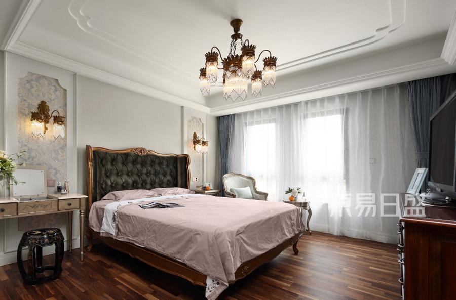 复地御钟山180㎡美式风格卧室