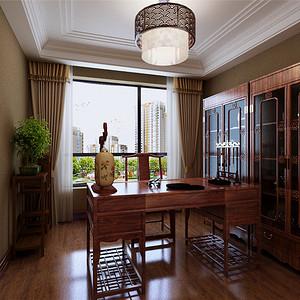 中式古典风格--书房