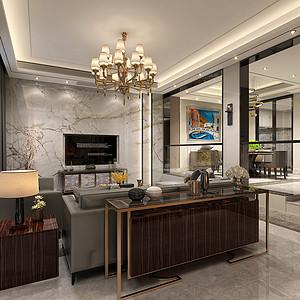 现代轻奢客厅装修效果图-现代前卫客厅装修效果图 现代前卫客厅装修
