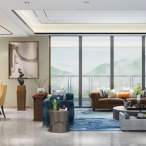 兰江山第花园 简欧风格 247平米别墅装修设计